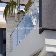 Aluminium Balustrade Using for Terrace in Villa