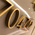 Dimensional Metal Channel Letters Stainless Steel Signage