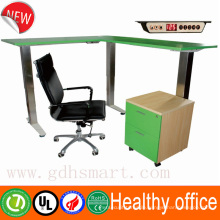 Alibaba L Feet height adjustable desk ergonomic adjustable computer desk china supplier