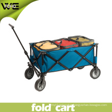 Portable Trolley Wheeled Lightweight Folding Shopping Pull Cart