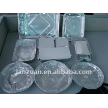 recipiente de comida da folha de alumínio