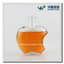 120ml 4oz Apple Shape Liquor Glass Bottle