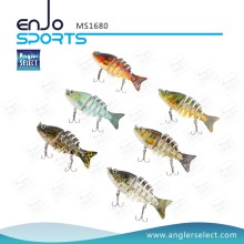 Angler Selecione Multi Jointed Pesca Life-Like Minnow Lure Isca Baixo Swimbait Shallow Artificial Fishing Tackle isca de pesca