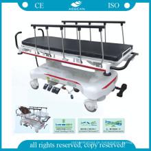 AG-HS007 Aluminiumlegierung Handlauf hydraulische Pumpe Krankenhaus Bahren für Patienten
