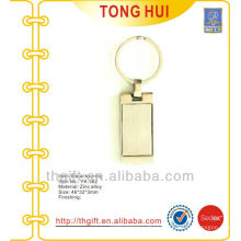 Metal shape blank key finders for promotion gifts