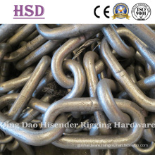 Galvanized Long Link Chain, DIN766, Common Long Link Chain, English Type