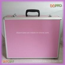 Barato atacado rosa cor caixas de ferramentas de mulheres com inserção de eva (satc017)