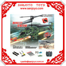9030 remote control project a missile!! 3.5CH gyro helicopter