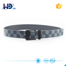 Men PU belt with alloy buckle