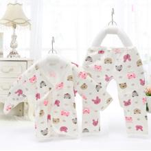 Baumwolle bedruckt Baby Anzug für Neugeborenes Baby