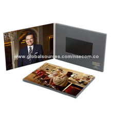 """Birthday Party Invitation Cards, 7"""" TFT Screen, Customized Video/Card Print, USB Charger/Speaker"""