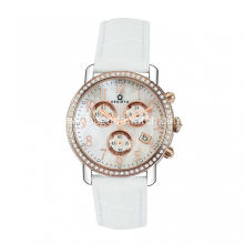 Women quartz chronograph watches