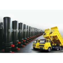 Three Stages Telescopic Hydraulic Cylinder for Dump Trailer