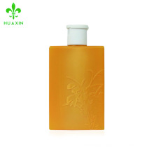 500ml PETG empty biodegradable square cosmetic foam pump bottle