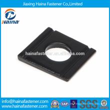 Bester Preis DIN 6917 Carbon Steel / Edelstahl Quadratische Kegelscheiben für hochfeste Strukturschrauben aus Stahl I-Profilen