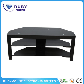 Corner Design 50 Inch Black TV Stand Cheap