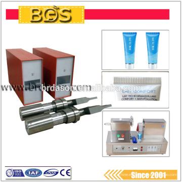 Generador ultrasónico de máquina de sellado de tubos de plástico
