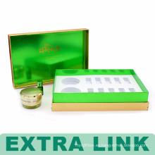 Caja cosmética de diseño gráfico personalizado