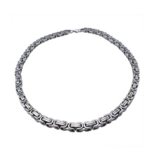 Hochwertige Edelstahl Silber vergoldet Armbänder, Silber Luxus Männer Stich Armband Schmuck