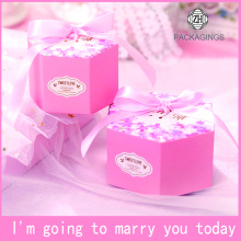 Hexagon+gift+candy+box+with+ribbon+decoration