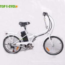 proveedor de china 2 ruedas bicicleta eléctrica precio barato marco de acero mini bicicleta plegable