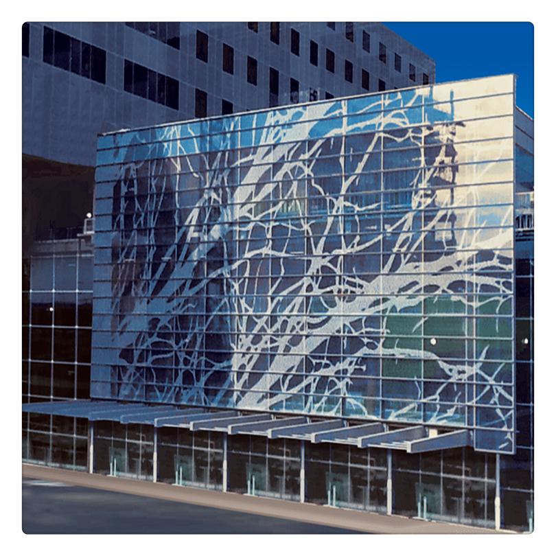 Custom Design Printed Laminated Glass Digital