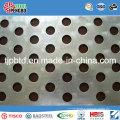 Furos Quadrados / Redondos Perfurado Metal Mesh / Aço Inoxidável / Galv.