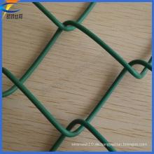 Einfache Installation PVC beschichtetes Kettenglied Wire Mesh