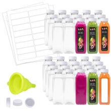 Bouchon anti-fuites pour bouteille plastique transparente