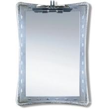 Espejo de baño de plata decorativo competitivo (JNA039)