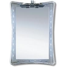 Competitive Decorative Silver Bathroom Mirror (JNA039)