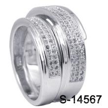 925 anillos de bodas de joyería de plata de moda (S-14567)