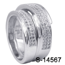 925 Fashion Silver Jewelry Wedding Rings (S-14567)