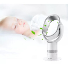 2018 patent innovation bedside fan led rechargeable no leaf fan