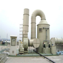 Waste gas disposal acid mist gas purification tower frp purification tower industry gas