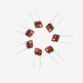 Topmay 2016 104 K 250V condensadores de película de poliéster metalizados (TMCF03) 0.22UF 250V