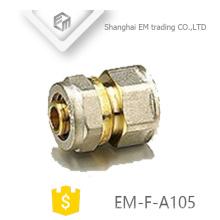 Encaixes de tubulação de união de bronze do conector de compressão da linha EM-F-A105 fêmea