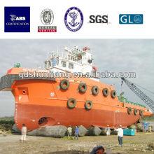 tipo neumático de la exportación de la nave inflable del caucho de la nave