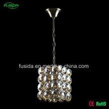 Factory Single E27 One Lights Classic Living Room Light Crystal Chandelier Pendant Light for Sale