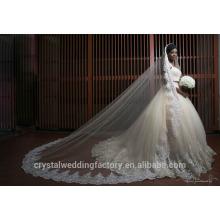 Dernières robes Alibaba Elegant Sweetheart Deux pièces Robes de mariée blanc A Line Vestidos de Novia avec perles lourdes 2016 LW256