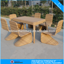 Synthetic Rattan Wicker Furniture Stylish Restaurant Furniture