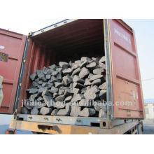 pedaços de anodo de carbono