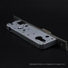 Puerta estrecha 20/25/30/35 MM Cerrojo y cerrojo Cuerpo de cerradura de acero inoxidable con 85 mm de orificio central