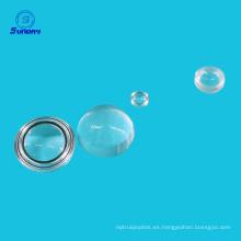 Lentes de bola N-BK7 de 1.5 mm para comunicación de fibra óptica