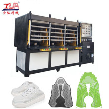 Estabilidad PU Zapatos deportivos Vamp Molding Equipment