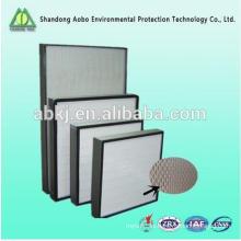 filtro de hepa de alta eficiencia h13 H14 filtro de aire hepa