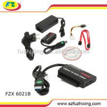 USB3.0 Zum IDE / SATA Adapter mit OTB für HDD 2TB