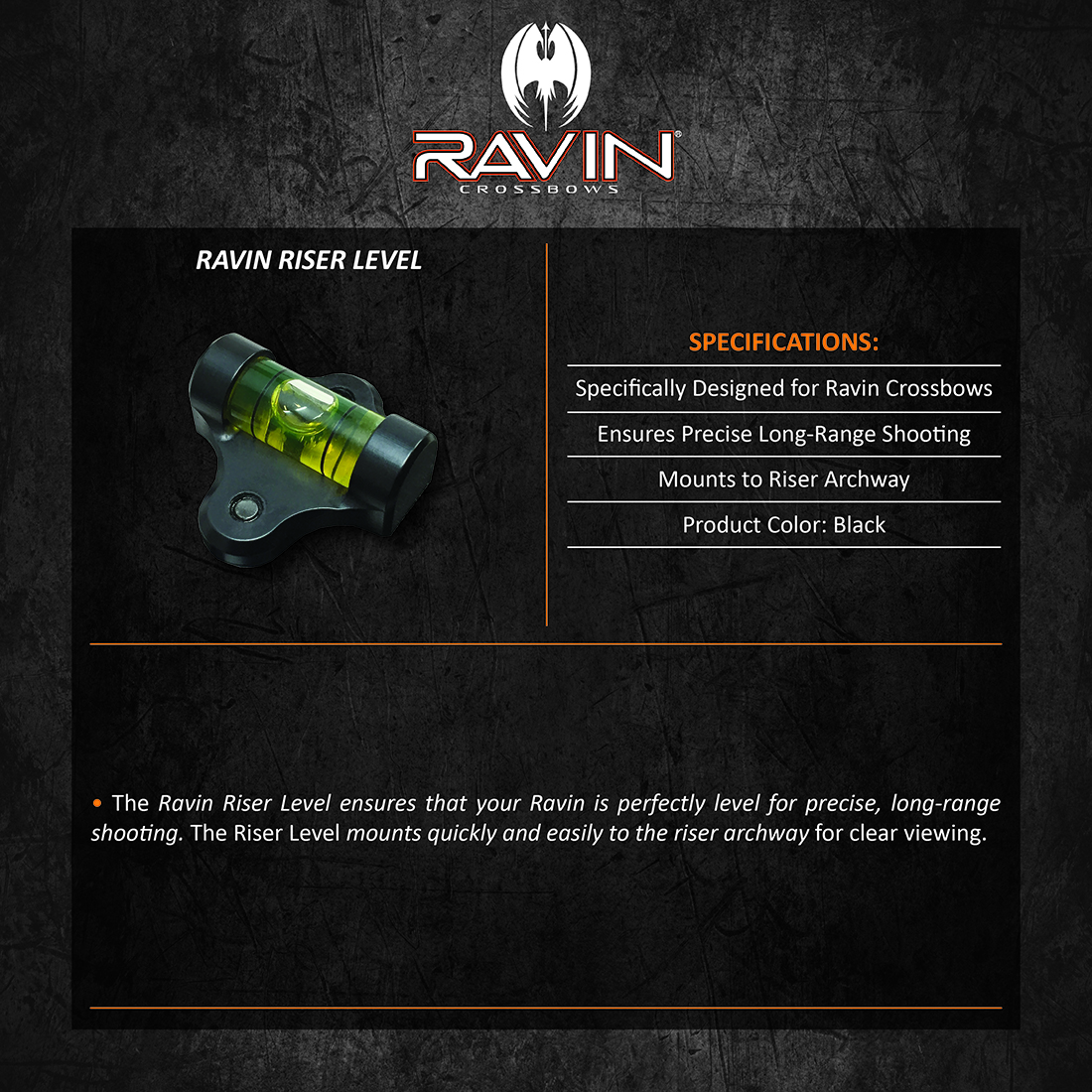Ravin_Riser_Level_Product_Description