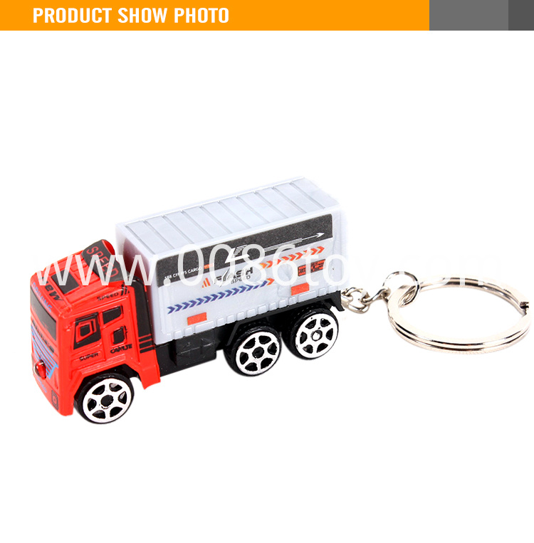 plastic toy car keychain1