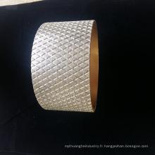 Roue abrasive de diamant électrolytique du marché de l'Inde pour la garniture de frein